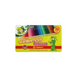 Spalvoti pieštukai 6 sp. X-BIG