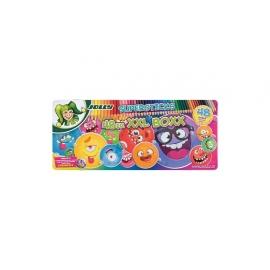 Spalvoti pieštukai KINDERFEST XXL SUPERHEROES, Jolly, 48 spalvos, metalinėje dėžutėje