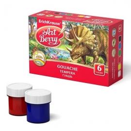 Guašas, 6 spalvų, Art Berry