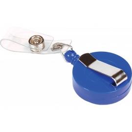 Ritė vardinei kortelei, EconoMix, su laikikliu, mėlynos spalvos