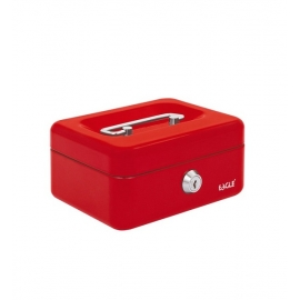 Pinigų dėžutė 8878XS, Eagle, raudonos spalvos