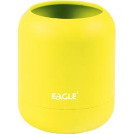 Pieštukinė HA!, Eagle, 80x80x98mm, apvali, neoninės geltonos sp.