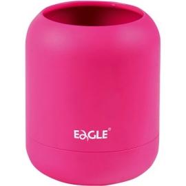 Pieštukinė HA!, Eagle, 80x80x98mm, apvali, neoninės rožinės sp.