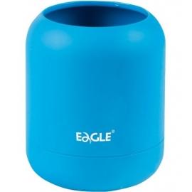 Pieštukinė HA!, Eagle, 80x80x98mm, apvali, neoninės mėlynos sp.