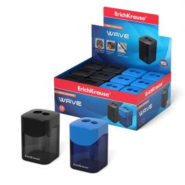 Drožtukas su dėžute dvigubas WAVE mėlynos/juodos sp.