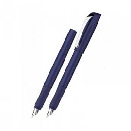 Plunksnakotis CEOD SHINY, M storio iridžio plunksna, D+K, mėlynos perlamutrinės spalvos