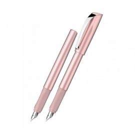Plunksnakotis CEOD SHINY, M storio iridžio plunksna, D+K , rožinės perlamutrinės spalvos