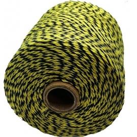 Notariniai siūlai, 350m, spalva – geltona/juoda