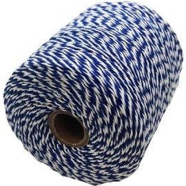 Notariniai siūlai, 350m, spalva – mėlyna/balta