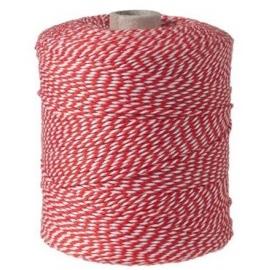 Notariniai siūlai, 350m, spalva – raudona/balta