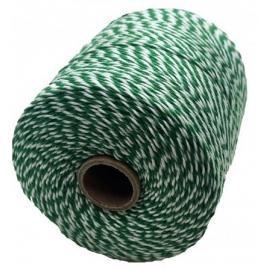 Notariniai siūlai, 350m, spalva – žalia/balta