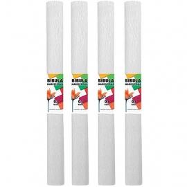 Krepinis popierius (baltos spalvos 0,5x2m)