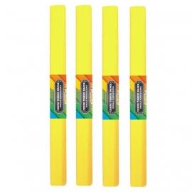 Krepinis popierius (citrinos geltonos spalvos 0,5x2m)