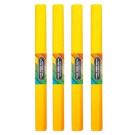 Krepinis popierius (geltonos spalvos 0,5x2m)