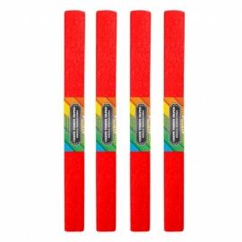 Krepinis popierius (raudonos spalvos 0,5x2m)