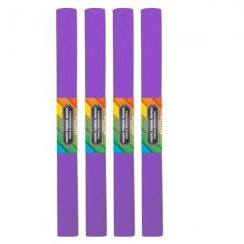 Krepinis popierius (ryškiai violetinės spalvos 0,5x2m)