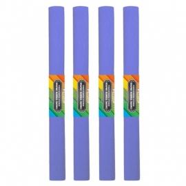 Krepinis popierius (šviesiai violetinės spalvos 0,5x2m)