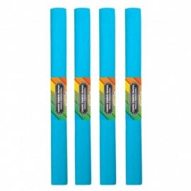 Krepinis popierius (šviesiai mėlynos spalvos 0,5x2m)