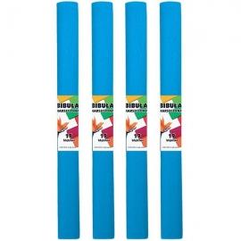Krepinis popierius (mėlynos spalvos 0,5x2m)