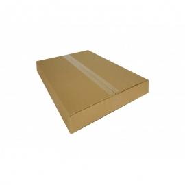 Kartoninė dėžutė, 400x380x75mm, ruda
