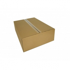 Kartoninė dėžutė, 400x380x170mm, ruda