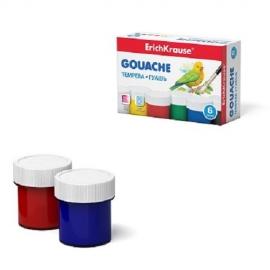 Guašas, ErichKrause, 6 spalvos po 20ml