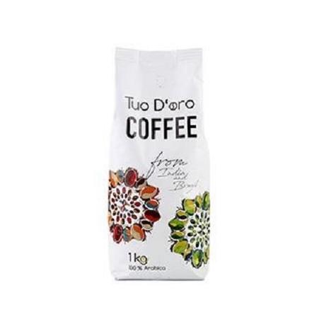 Kavos pupelės TUO D'ORO, 100% arabica, 1kg