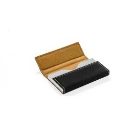 Dėklas vizitinėms kortelėms POSE, juodos spalvos
