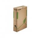 Archyvinė dėžė ESSELTE, 327x233x80mm, rudos sp.