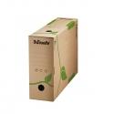 Archyvinė dėžė ESSELTE, 327x233x100mm, rudos sp.
