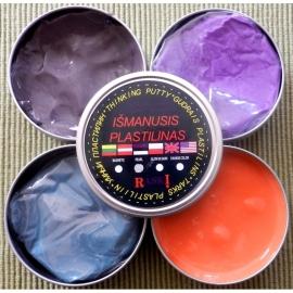 """Išmanusis plastilinas """"Change color"""", 80g, įvairių spalvų"""