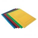 Segtuvėlis su spauda A4, įvairių spalvų