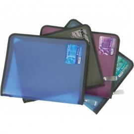 Dėklas dokumentams A4 su užtrauktuku, įvairių spalvų, Erich Krause
