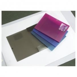 Dėklas dokumentams su spaustuku VIVID COLORS A4 8 mm., įvairių spalvų, Erich Krause