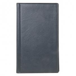 Dėklas vizitinėms kortelėms, 96 vnt., juodos spalvos, Erich Krause