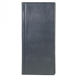 Dėklas vizitinėms kortelėms, 128 vnt., juodos spalvos, Erich Krause