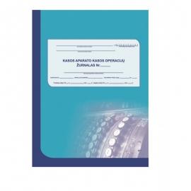 Kasos operacijų žurnalas A4, vertikalus, 73 lapai, 2-jų dalių viršelis