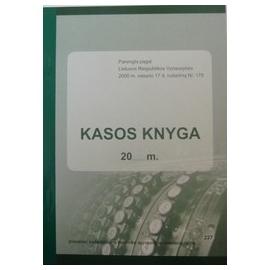 Kasos knyga A4, vertikali, pildoma ne kiekvieną dieną (per periodą) 30x2 lapų, savekopijuojanti