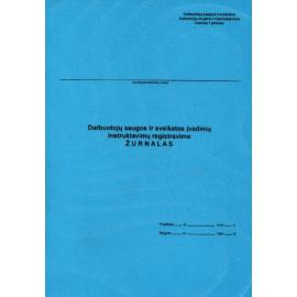 Darbuotojų saugos ir sveikatos įvadinių instruktavimų registracijos žurnalas A4, vertikalus, 10 lapų