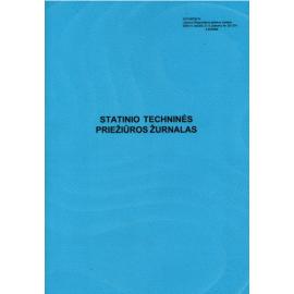 Statinio techninės priežiūros žurnalas A4, vertikalus, 14 lapų 2 priedas